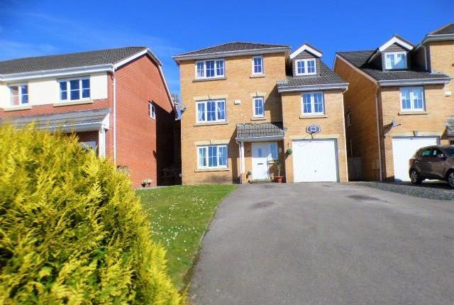 Thumbnail Detached house for sale in Crymlyn Gardens, Neath