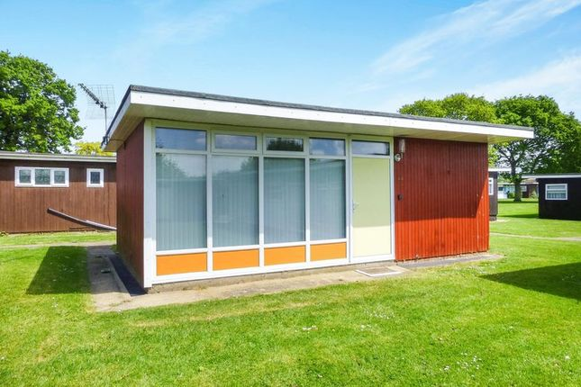 Thumbnail Detached house for sale in Broadside Chalet Park Stalham, Norwich