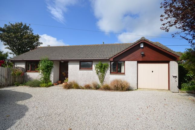 3 bed detached bungalow for sale in Chiverton Cross, Blackwater, Truro