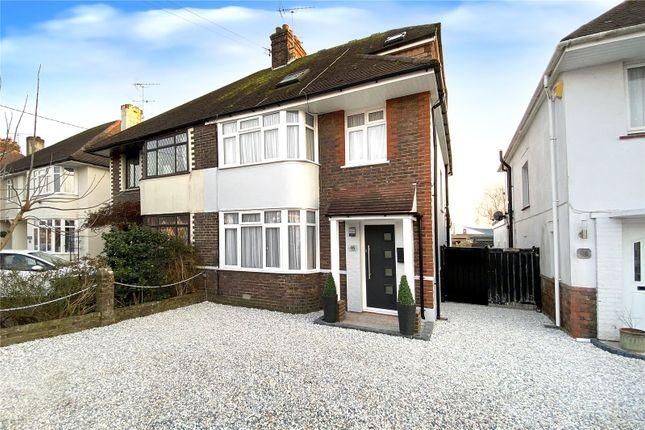Thumbnail Semi-detached house for sale in Cornwall Road, Littlehampton