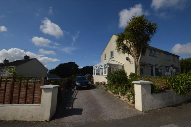 Thumbnail Semi-detached house for sale in Grange Road, Helston, Cornwall