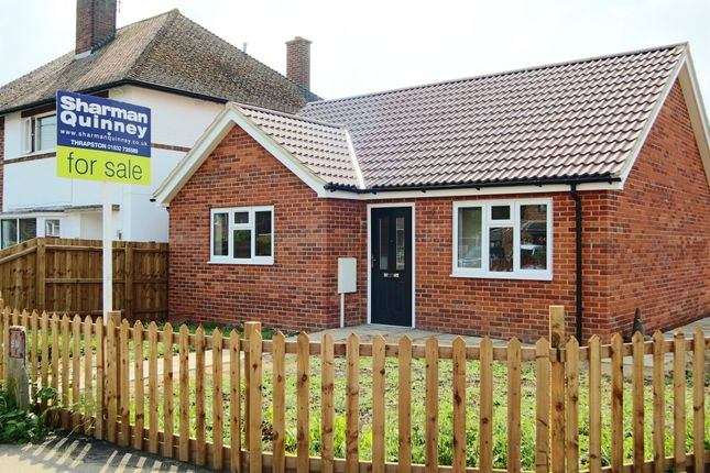 Thumbnail Detached bungalow for sale in Highfield Road, Thrapston, Kettering