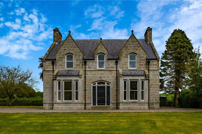 Thumbnail Detached house for sale in Ythanside, Fyvie, Turriff, Aberdeenshire