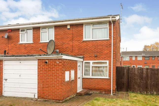Thumbnail End terrace house for sale in William Groubb Close, Binley, Coventry, West Midlands