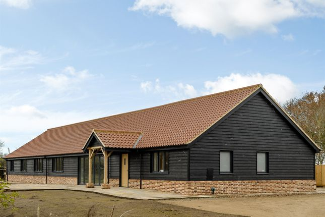 Thumbnail Barn conversion for sale in Rectory Road, Tivetshall St. Mary, Norwich
