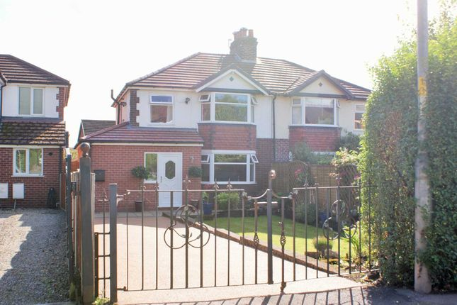 Thumbnail Semi-detached house for sale in Longsight, Harwood, Bolton