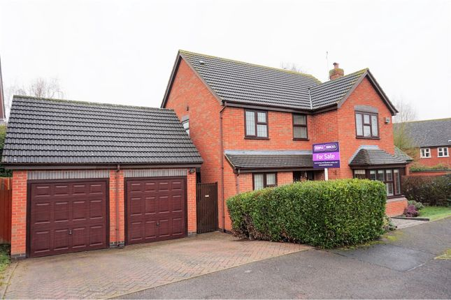 Thumbnail Detached house for sale in Dugard Way, Droitwich