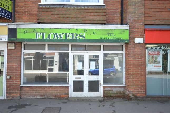 Thumbnail Retail premises to let in Wey Hill, Haslemere, Surrey