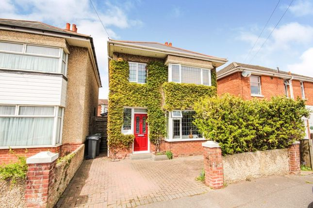 Thumbnail Detached house for sale in Oates Road, Winton, Bournemouth