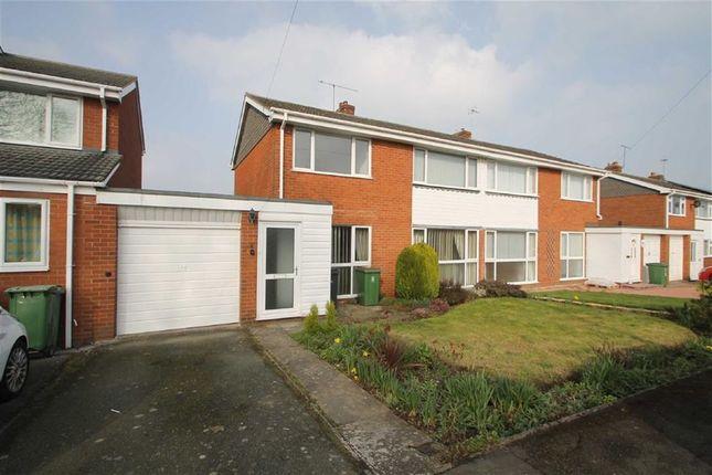 Thumbnail Semi-detached house to rent in Edge Close, Bayston Hill, Shrewsbury