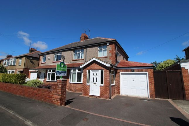 Thumbnail Semi-detached house for sale in Willowfield Avenue, Newcastle Upon Tyne