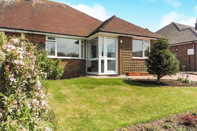 Thumbnail Semi-detached bungalow for sale in Summerlands Road, Willingdon, Eastbourne