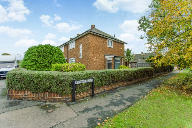 Thumbnail Property for sale in Ryvers Road, Langley, Slough