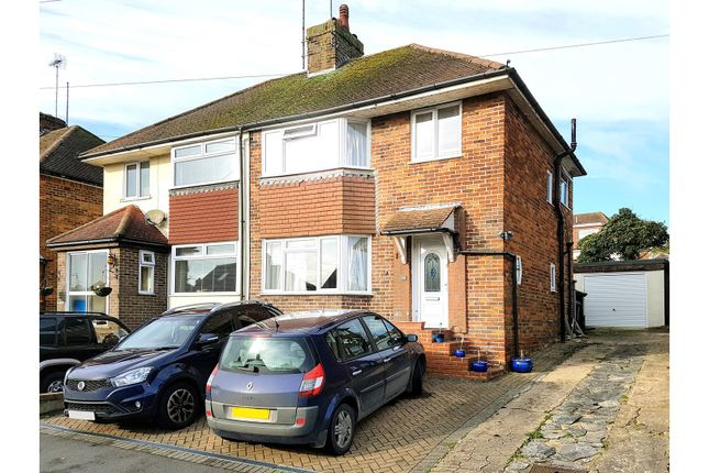 3 bed semi-detached house for sale in Dale Crescent, Brighton