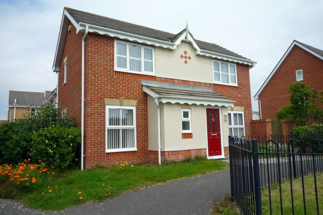 Thumbnail Detached house to rent in Roebuck Drive, Gosport