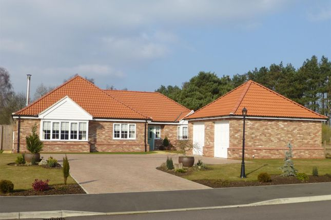 Thumbnail Detached bungalow for sale in Cornwall Terrace, Tattershall Road, Woodhall Spa