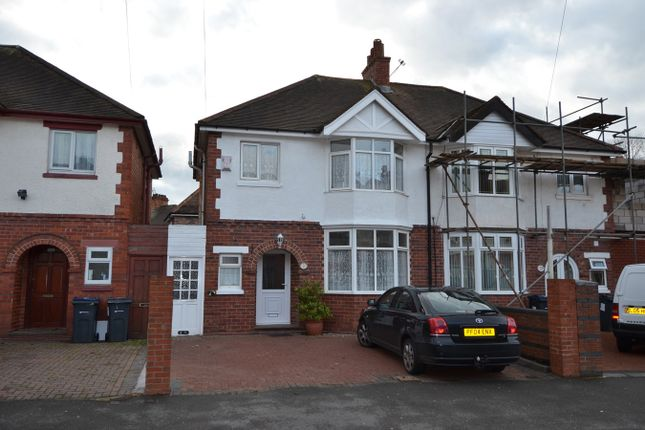 Thumbnail Semi-detached house for sale in Phipson Road, Sparkhill, Birmingham