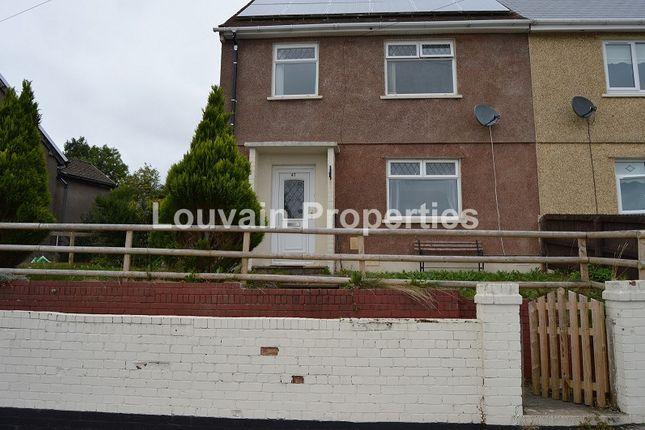 Thumbnail Semi-detached house to rent in Graig Ebbw, Rassau, Ebbw Vale, Blaenau Gwent.
