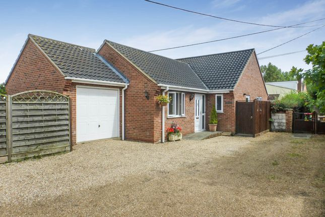 2 bed detached bungalow for sale in Norwich Road, Besthorpe, Attleborough