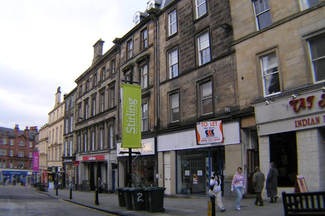 Thumbnail Flat to rent in King Street, Stirling