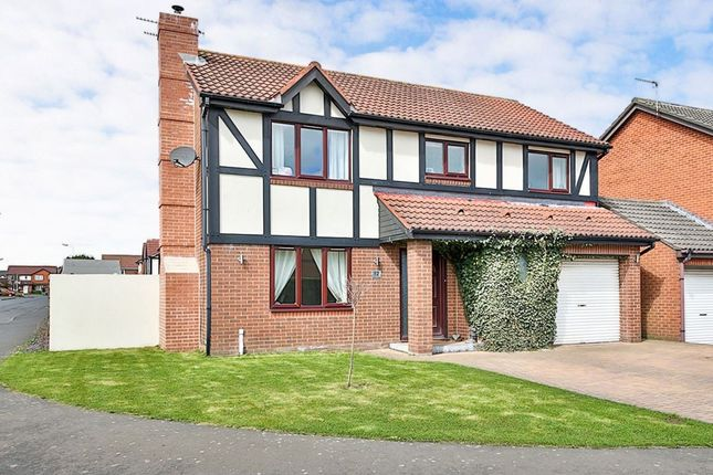 Thumbnail Detached house for sale in Daylesford Road, Cramlington