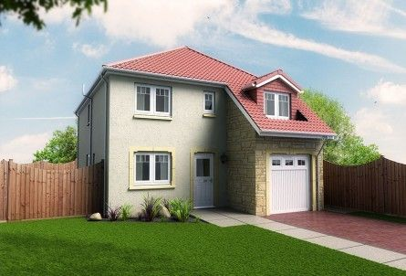 Thumbnail Detached house for sale in Plots 4 & 5, Laurel Bank, Station Road, Springfield, Fife