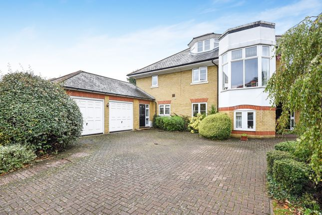 Thumbnail Detached house to rent in St. David's Drive, Englefield Green, Egham