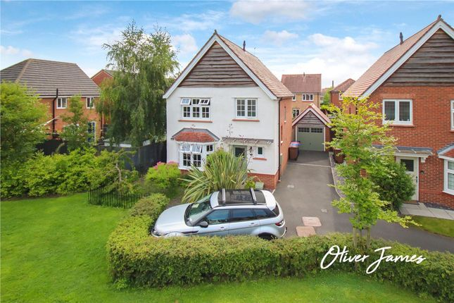 Thumbnail Detached house for sale in Daneshill Lane, Cadishead