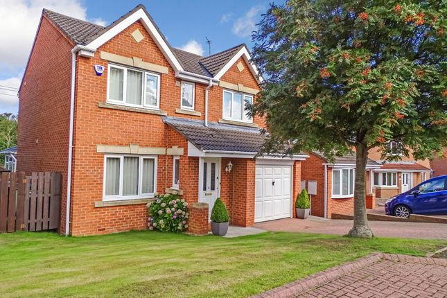 Thumbnail Detached house for sale in Chollerton Drive, Bedlington