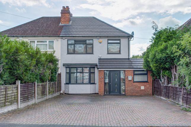Thumbnail Semi-detached house for sale in Delamere Road, Birmingham