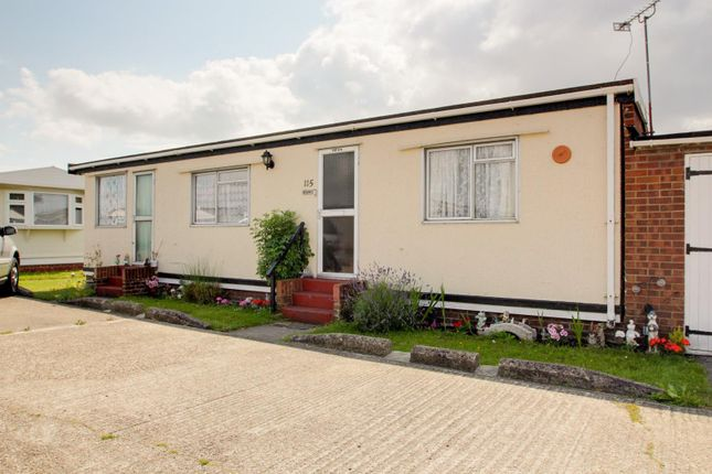 Outside of Meadow View Park, St. Osyth Road, Little Clacton, Clacton-On-Sea CO16