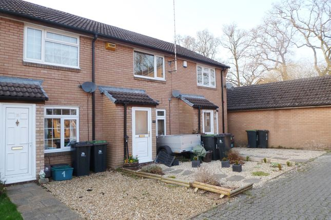 Thumbnail Terraced house for sale in Mendip Close, Verwood