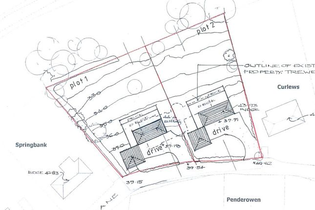 Thumbnail Land for sale in Budock Vean Lane, Mawnan Smith, Falmouth