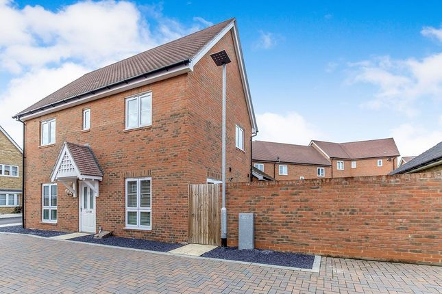 Thumbnail Detached house for sale in Flora Way, Hoo, Rochester