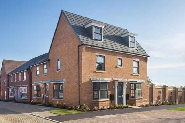 Thumbnail Detached house for sale in Doseley Park, Doseley, Telford