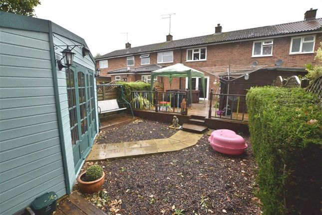 Thumbnail Terraced house to rent in Cook Road, Chells, Stevenage, Herts