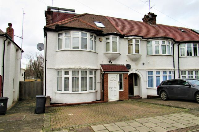 End terrace house for sale in Colin Crescent, Colindale