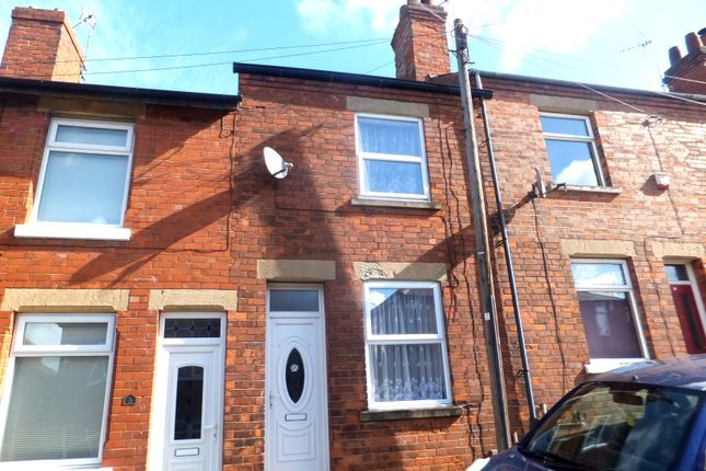 Thumbnail Terraced house to rent in Roseberry Hill, Mansfield