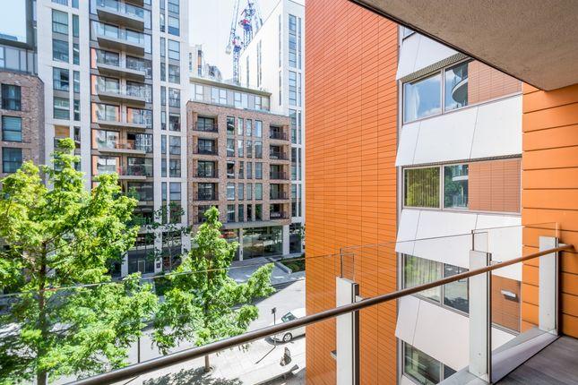 Balcony of Hermitage Street, London W2