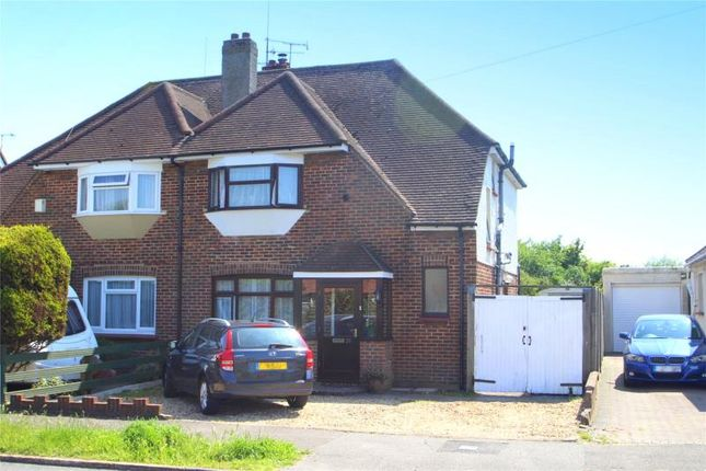 Thumbnail Semi-detached house for sale in Cokeham Road, Sompting, West Sussex