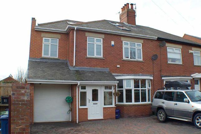 Thumbnail Semi-detached house for sale in Hotspur Avenue, South Shields