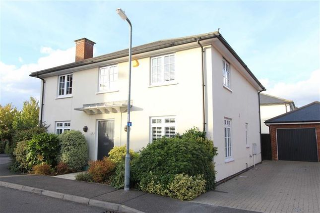 Thumbnail Detached house for sale in Kelso Close, Rayleigh, Essex