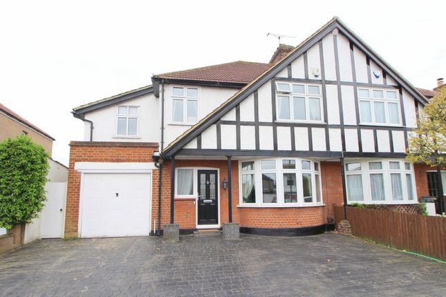 Thumbnail Semi-detached house for sale in Longlands Road, Sidcup