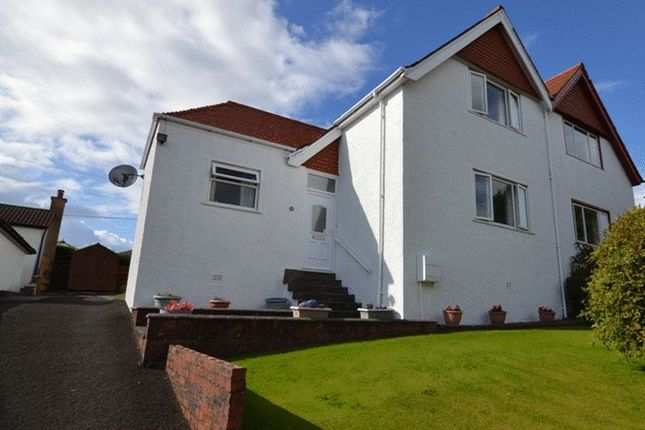 Thumbnail Semi-detached house for sale in Craufurd Court, Crosbie Towers, West Kilbride