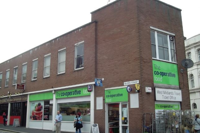 Retail premises to let in Queen Street, Wolverhampton