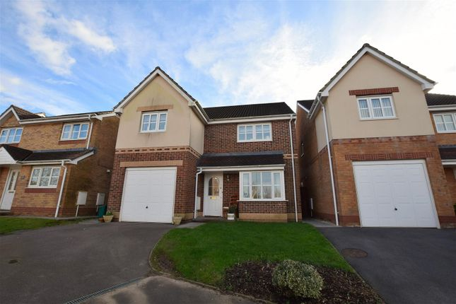 Thumbnail Detached house for sale in Blackthorn Court, Llanharry, Pontyclun