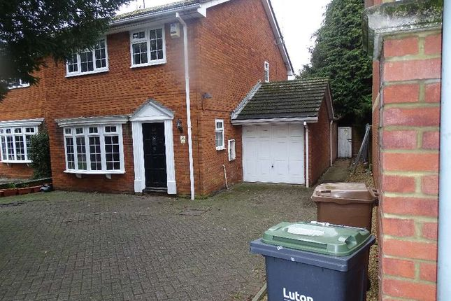 Thumbnail Detached house to rent in Compton Avenue, Leagrave, Luton