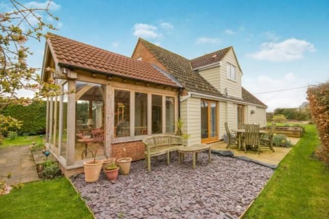 Thumbnail Detached house for sale in Monk Sherborne, Tadley, Hampshire