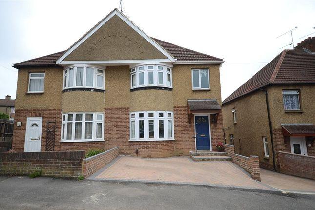 Thumbnail Semi-detached house for sale in Jubilee Road, Aldershot, Hampshire