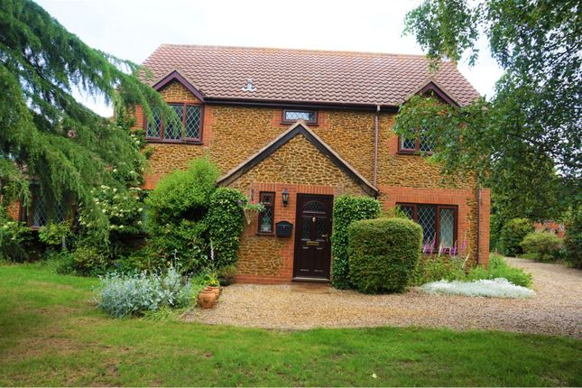 Thumbnail Detached house for sale in Station Road, North Wootton, King's Lynn